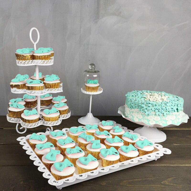 4pcs wedding cupcake stand setcake holder cupcake decorationcupcake traycake
