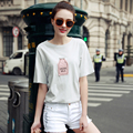 New Arrival Fashion Summer Candy Color Short Sleeve Women T-Shirt Clothing For Women O-neck Loose Women Top Tees Casual Shirts