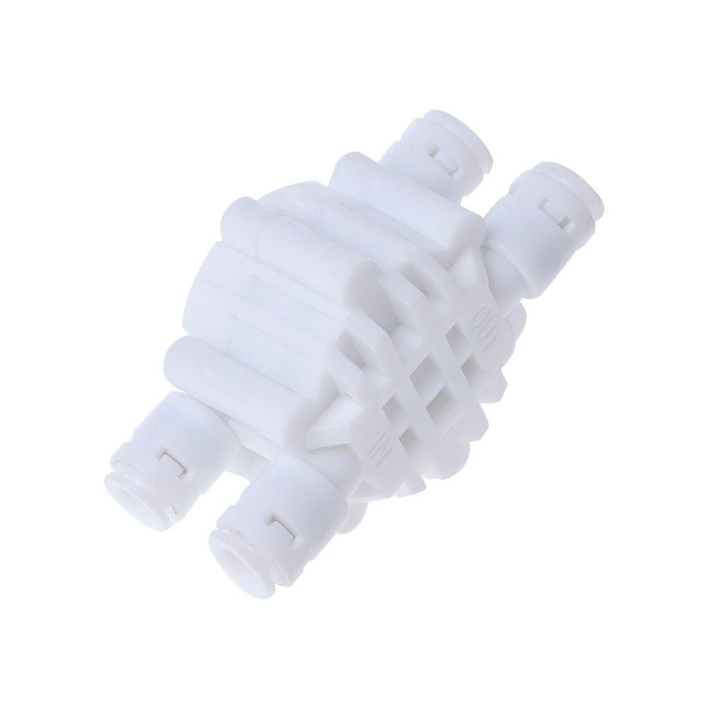 4 Way 1/4 порты и разъёмы автоматическое отключение клапан для ro, система обратного осмоса фильтр воды системы