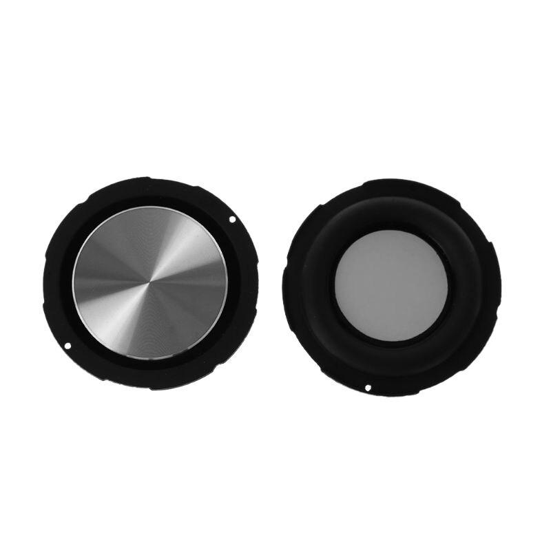 2PCS Passive Bass Radiator Speaker Diaphragm 55mm Auxiliary Strengthen Vibration Membrane Woofer DIY Accessories