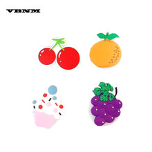 VBNM Candy Color 3D Fruit Support Phone Holder Stand Pineapple Lazy Flexible Finger Ring For Xiaomi for honor(China)