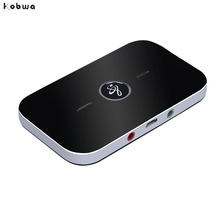 2 in 1 Wireless Bluetooth Transmitter Receiver 4.1 Audio 3.5mm Adapter For Smartphone PC TV Bluetooth Receiver Transmitter Aux