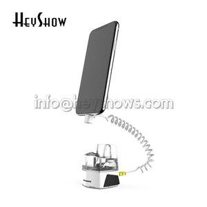 Image 3 - 10x 携帯電話セキュリティ充電 Iphone 盗難警報システム携帯アンチアップルストアでの盗難防止ディスプレイホルダー