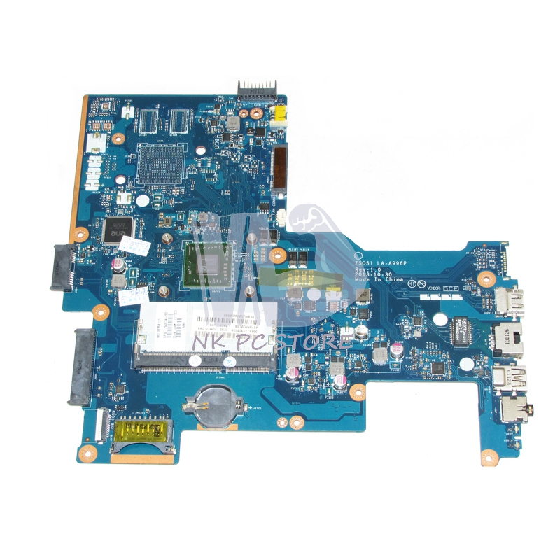750634-501 750634-001 Motherboard for HP 15-G Series laptop main board ZS051 LA-A996P DDR3 100% tested 815248 501 main board for hp 15 ac 15 ac505tu sr29h laptop motherboard abq52 la c811p uma celeron n3050 cpu 1 6 ghz ddr3