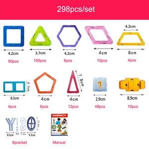 Image 5 - Jeu de Construction de Concepteur de Blocs MagnéTiques en Plastique pour Enfants, 100 298 Pièces