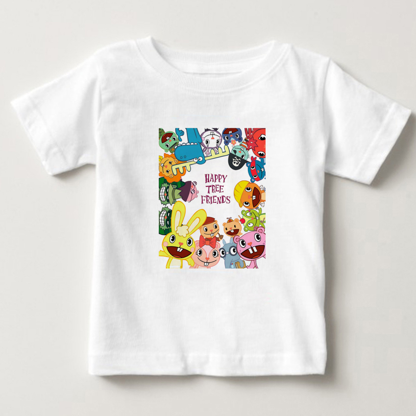 Happy Tree Friend children T Shirt Tee Size S - 3XL Clothing boys and girls Tshirt New 2018 Fashion Short Sleeve T-Shirt MJ
