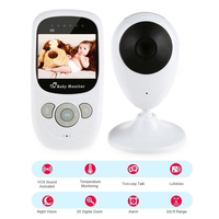 IMPORX 2.4 Inch Wireless Baby Camera With Monitor LCD Night Vision Baby Phone Camera Wifi 2 Way Audio Baby Video Monitor Camera