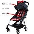 Cores Yoya Pram Carrinho de Bebê Mat Conjunto Assento Almofada Capa de Almofada Do Assento Sombra Galpão E Pad Acessórios Carrinho De Carrinhos de Bebê