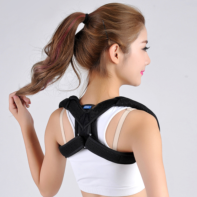 Children's clavicle with scapular fracture fixator Adult kyphosis correction shoulder correcting kyphosis with chest -jz1
