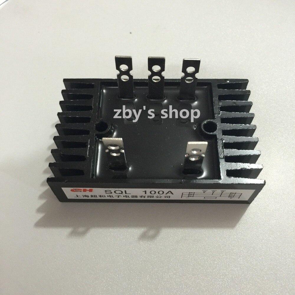-SQL Heatsink Shape Bridge Rectifier 3 Phase Diode 100A 1200V pd100kn16 niec 100a1600v half bridge rectifier module