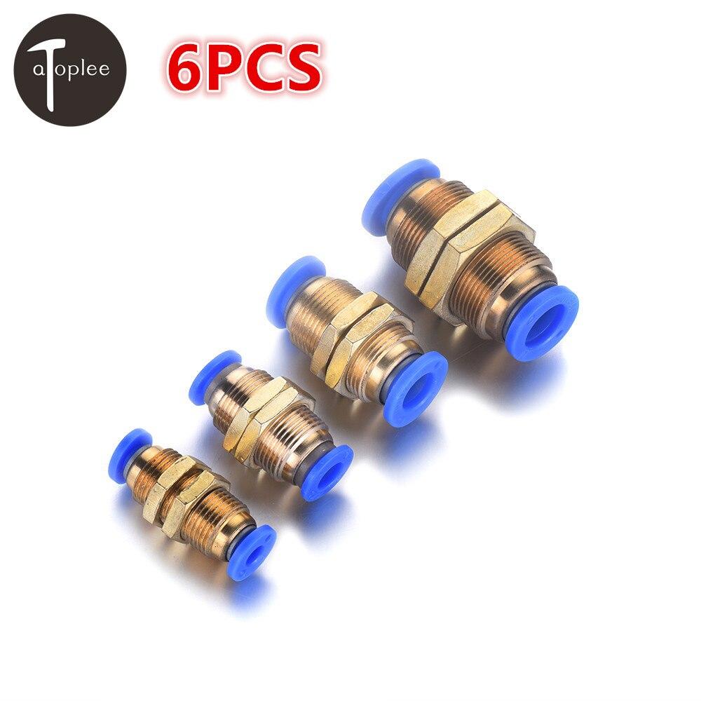 6PCS 4/8/10mm Interface DiameterAir Flow Partition Speed Control Valve Pneumatic Push In Fitting  Link PneumaticTools scv valve suction control valve 8 98145455 0 8 98145453 0 for isuzu 4jk1 4jj1