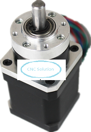 42mm Planetary Gearbox Geared Stepper Motor Ratio 5.18:1 Nema17 L 48mm 1.5A 3D Printer cnbtr low speed electric geared motors dc12v 2 5rpm metal gearbox motor