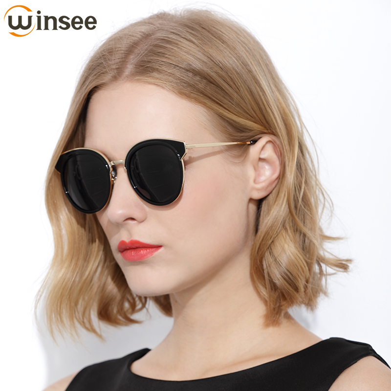 151a5083d1 Winsee Sunglasses female 2018 new polarized glasses round face ladies UV  protection tide 2017 star models-in Sunglasses from Apparel Accessories on  ...
