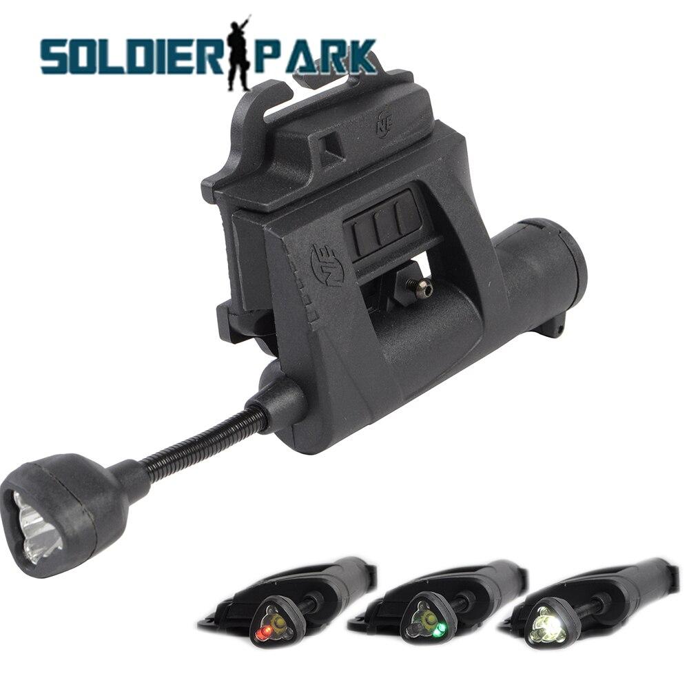 Prix pour Nuit Evolution Charge MPLS Tactique Casque Lumière En Plein Air Chasse Airsoft Militaire 4 Mode Lampe de Poche Éclairage Outil pour Casco