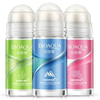 50ml Ball Body Lotion Antiperspirants Underarm Deodorant Roll on Bottle Fragrance Smooth Dry Perfumes Refreshing