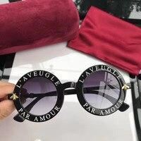 2018 luxury Runway sunglasses women brand designer sun glasses for women Carter glasses Y1102