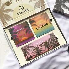 Летняя коллекция набор для макияжа 21 цвет s тени век Палитра