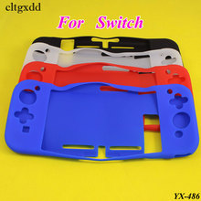 cltgxdd Full Body Silicone Gel Gamepad Protective Skin Cover Case For Nintendo Switch Console Controller Protection Shell For NS protective case crystal cover shell shockproof back clear ultra thin transparent for nintendo switch ns game console controller