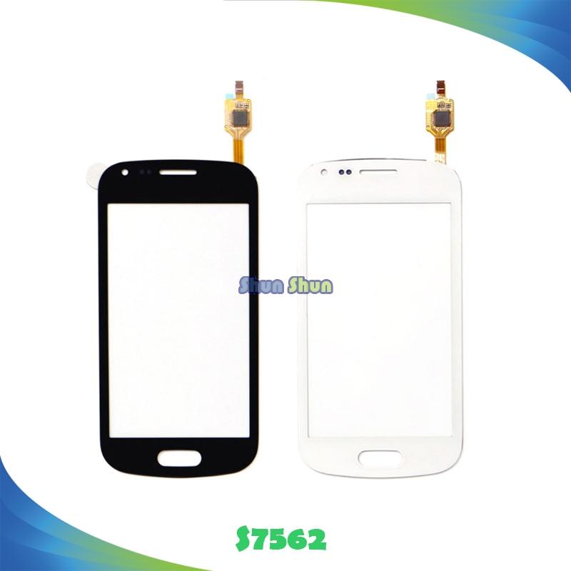 4.0 ''Tactile Panneau pour Samsung Galaxy Tendance DUOS S7560 S7562 GT-S7562 7562 7560 Écran Tactile Digitizer Capteur Verre Avant lentille