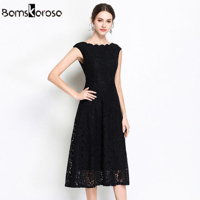 Summer Party Lace Dress Slim Sleeveless Women Floral Crochet Casual White Dresses Vestidos Ball Gown For Bridesmaid Wedding 4