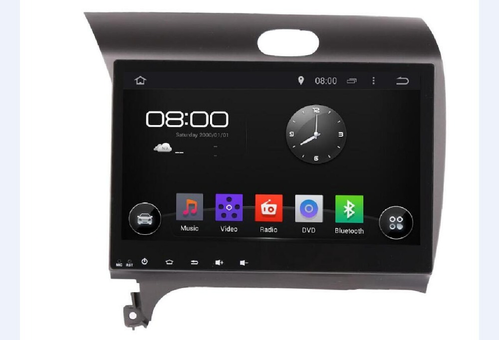 10.1' Android 6.0 2 DIN Car DVD GPS for Kia CERATO K3 FORTE 2013 2014 2015 2016 headunit radio video player wifi 1024*600+Camera