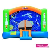 Free Shipping Toy Inflatable Trampoline Naughty Fort Household Space Slide