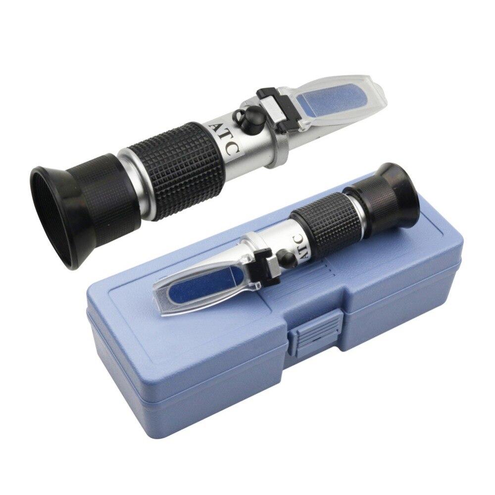 Plus haute Qualité 1 pcs Pour Hand Held Type Prisme Réfractomètre Sucre 0-32% Taille 212*80*55mm Division valeur 0.2%