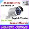 English Version 3MP IR Bullet Network IP Camera WIFI 3 0MP Bullet Cctv Camera With POE
