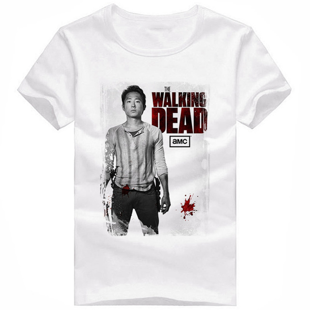 The Walking Dead Characters T-Shirt Men