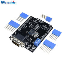 1Set MCP2515 Can Bus Shield Board SPI Interface 9 Pins Standard Sub-D Connector Expansion Module DC 5-12V For Arduino Seeeduino(China)