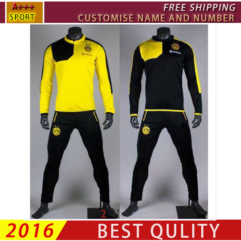 d9004c8e2b419 2016 chandal chandal Borussia Dortmund chándal survetements fútbol Dortmund  Dortmund formación Borussia Dortmund BVB top pant sudadera en Camisetas de  ...