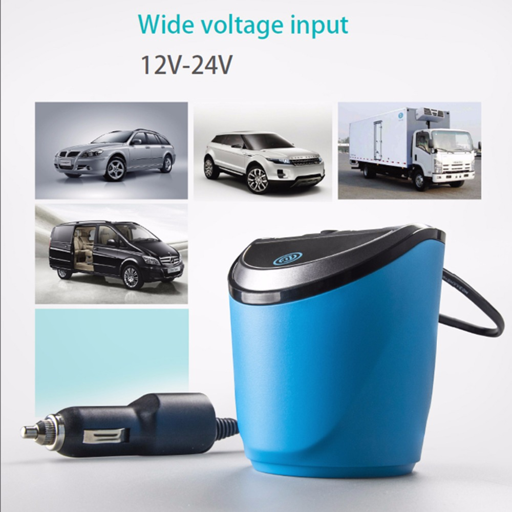 12 24V 3 1A Output USB Car Charger with Voltage Current Display Quick Charge Car Cup Holder Car Cigarette Lighter Socket Adapter in FM Transmitters from Automobiles Motorcycles