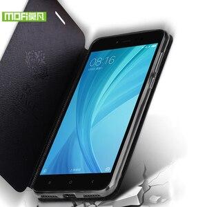 Image 3 - Mofi pour Xiaomi Redmi 5A étui pour Xiaomi Redmi 5A étui en silicone TPU support flip en cuir pour Xiaomi Redmi 5A étui 360 dur