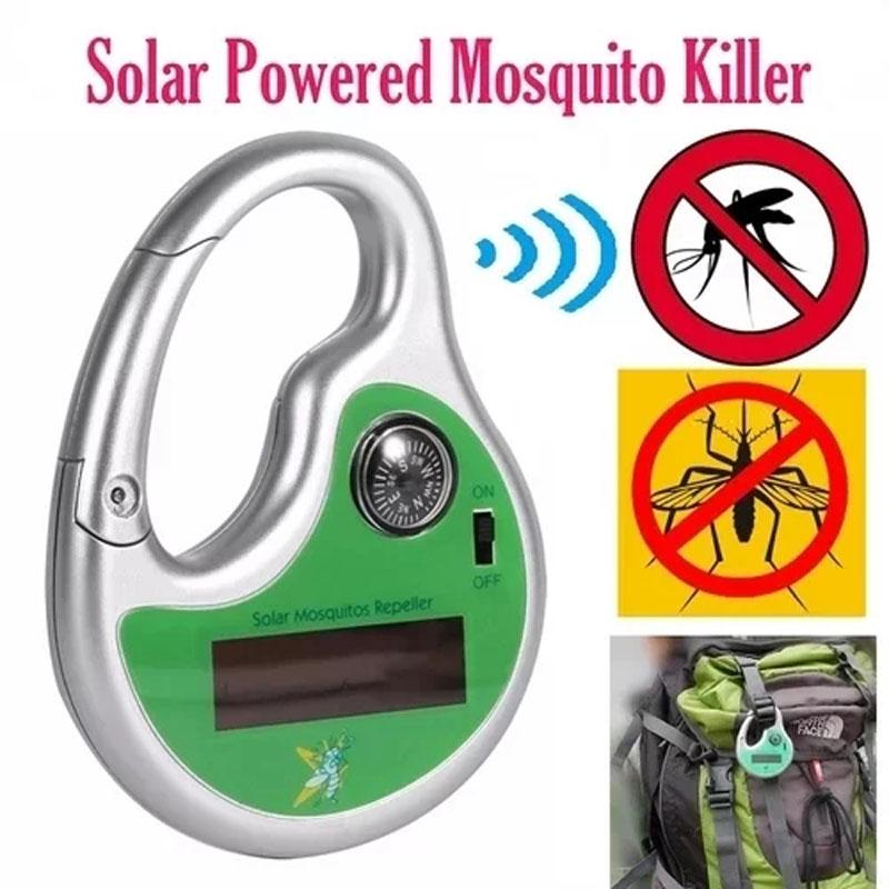 Mosquito Repellent Solar Powered Outdoor Hook Ultrasonic Killer Insect Mosquito Compass Fly Trap Garden Yard Insect Repeller Hot