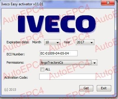 Цена за Для iveco легко 12.1 и 13.1 серийник разблокировки [установить неограниченное компьютер]