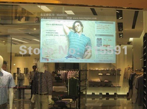 good quality of holographic projector  film,rear projector screen, good for shopping mall  advertising