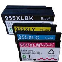 Compatibele Inkt Cartridge Voor Hp 955 955XL Hp 955 Voor Hp Officejet Pro 8210 8216 8218 8710 8715 8720 8725 8728 8730 8740 Printer