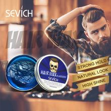 SEVICH Original Hair Clay Pomades & Waxes hair styling wax High Hold Five Tastes One-time Molding DIY Styling Products Mud Gel