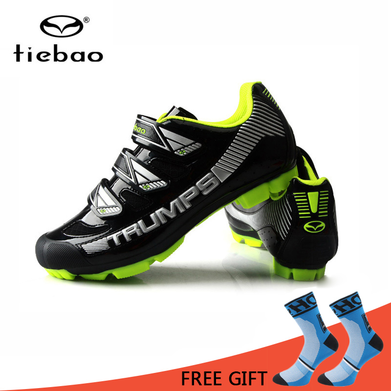 Tiebao Breathable Men Cycling Shoes MTB Bike Shoes Wear Resisting Racing Self Locking Bicycle Sneakers Sapatilha Ciclismo|sapatilha ciclismo|bicycle sneakerscycling shoes mtb - title=