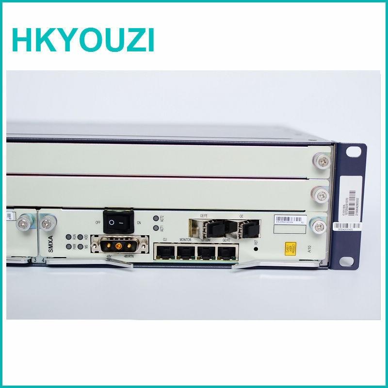 I LAGER ZXA10 C320 OLT, SMXA / 1-kort * 1 STK med 4port 1G upplänk, - Kommunikationsutrustning - Foto 1