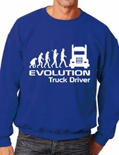 Evolution Of A Van Driver Job Work Unisex Sweatshirt More Size and Color-E124