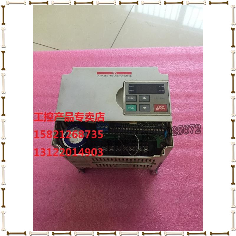 все цены на / LS electrogenesis inverter SV037IG5-2 u 3.7 KW 220 v has been test package good sell! онлайн