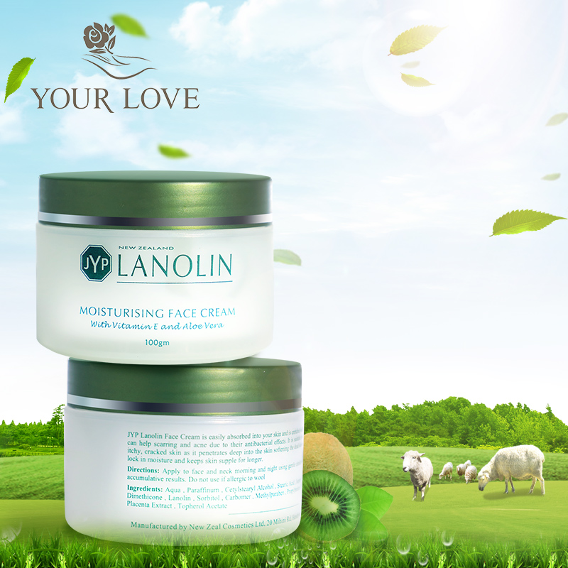 US $18 69 33% OFF|Original NewZealand JYP Lanolin Moisturizing Face Cream  Super VE Cream Aloe Vera Natural Quality Facial Cream Care treatment-in