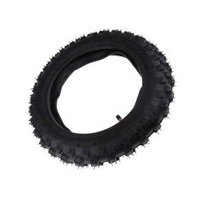 Image 2 - 2.50 × 10 オートバイゴムスクータータイヤ & インナーヤマハ PW50 ホンダ CRF50 XR50 2.50 10 タイヤなど溝容易ではない穿刺