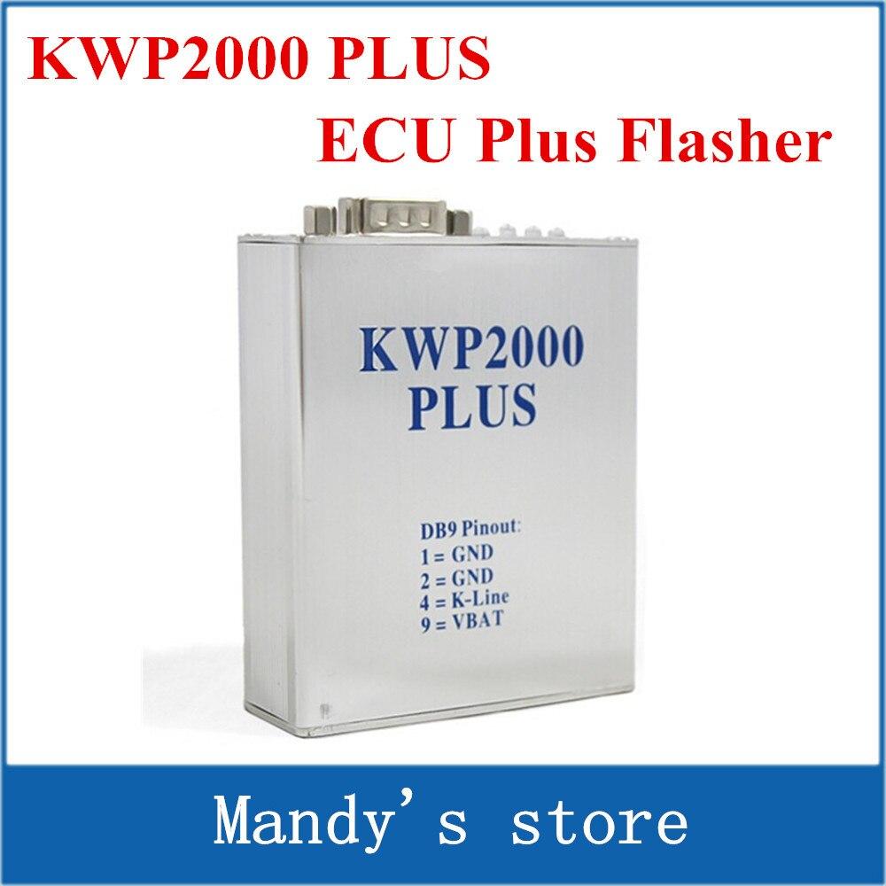 Цена за Kwp2000 плюс экю переназначить флэш-flasher OBD2 экю чип tunning инструмент бесплатная доставка KWP 2000