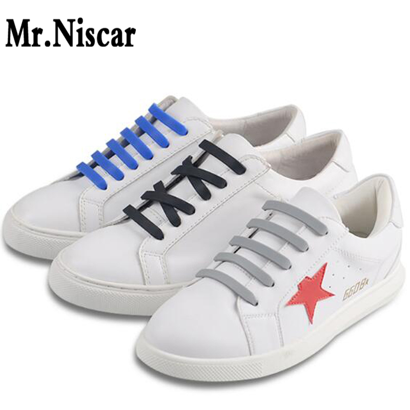 1 Set / 20 Pcs Fashion Unisex Women Men Athletic Running No Tie Shoelaces Elastic Silicone Shoe Laces Fit Strap All Sneakers 2017 men shoelaces athletic no tie shoelaces men shoes laces lazy elastic silicone shoe lace sneakers fit strap free shipping