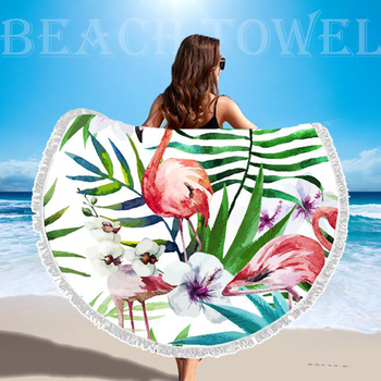 SDARISB Microfiber Fabric Bath Towel Round Beach Towel Wholesalers Large Towel Wholesalers Watermelon Lemon Vacation Products 3