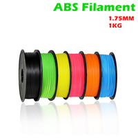3D Printer Filament 1.75mm 1KG ABS Plastic For 3D Printer Rubber Consumables Material Random Color For CR 10S Ender 3 Prusa i3