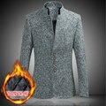 2016 nuevo diseño de moda 6XL más el tamaño de traje chaqueta de los hombres de alta calidad de la capa de los hombres