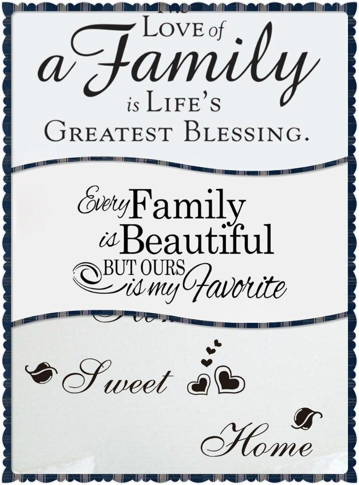 Bahasa Inggris Dinding : bahasa, inggris, dinding, Manis, Rumah, Cinta, Keluarga, Mengutip, Stiker, Dinding, Dekorasi, Bahasa, Inggris, Adesivo, Parede, Deocration, & sticker, Decor sticker, Worlddecorative, Stickers, AliExpress
